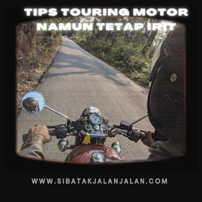 5 tips touring dengan sepeda motor tetap irit meski jarak jauh