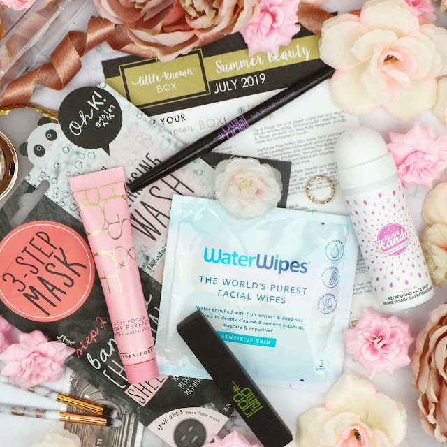 Little Known Box July 2019 - The Summer Edit Review, Lovelaughslipstick Blog