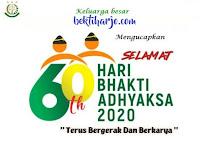Bektiharjo.com menyampaikan Selamat Hari Bhakti Adhyaksa Tahun 2020
