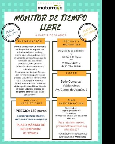 Monitor de Tiempo Libre