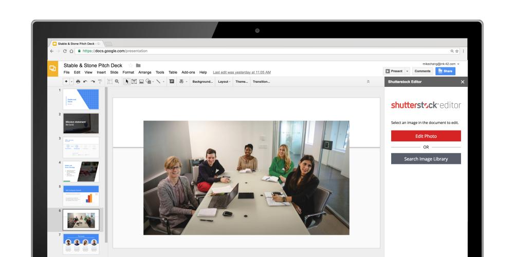 g suite アップデート ブログ スライドの新機能 好印象を与える本格的