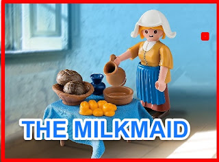 {VERY SHORT STORIES} THE MILKMAID  DAILY MORAL STORIES
