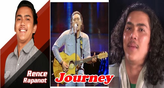 Top 4 Rence Lee Rapanot Journey to The Voice of the Philippines Season 2