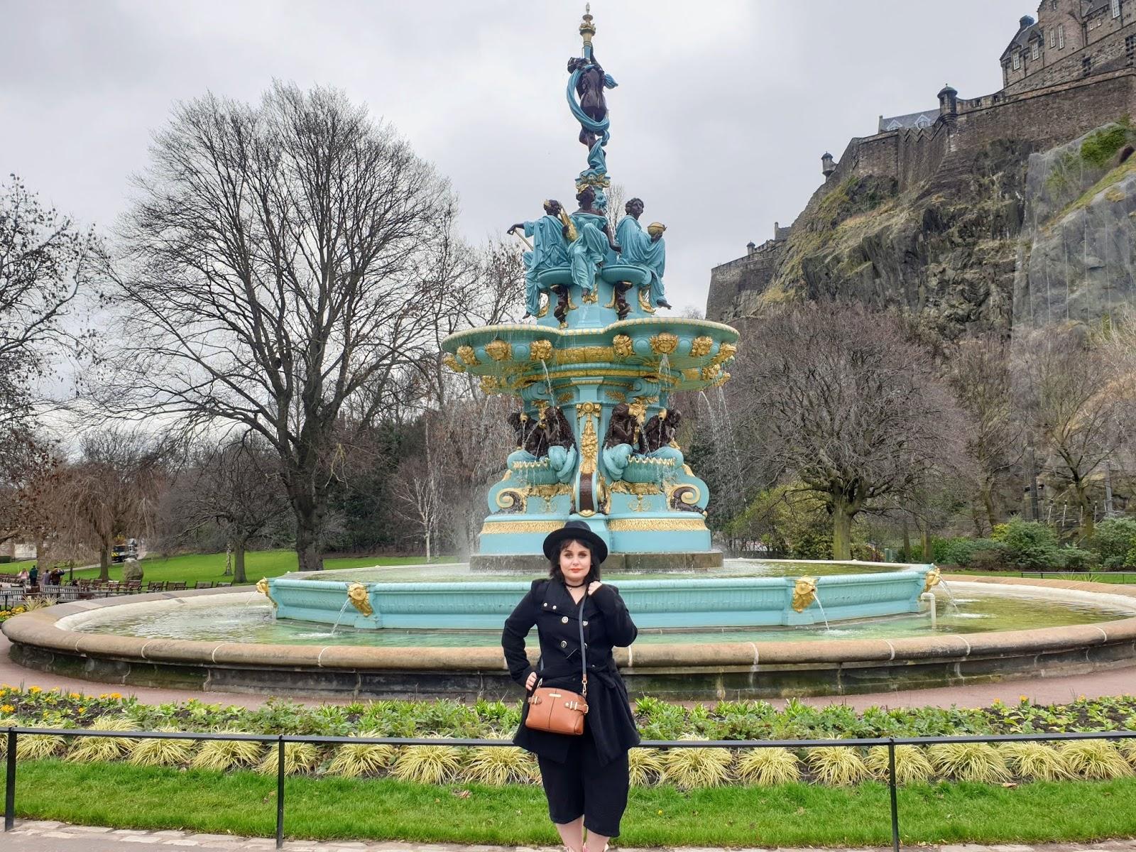 Edinburgh fountain