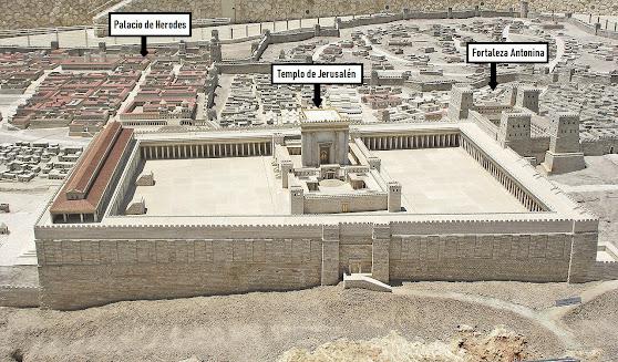 Jerusalén. Templo. Fortaleza Antonina