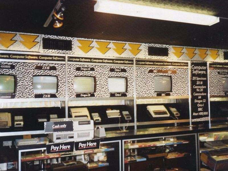Interesting Photos Of Computer Stores In The 1970s And