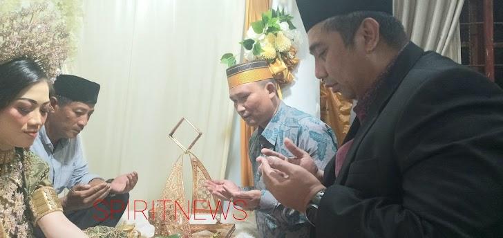 Bupati Maros, Hadiri Malam Paccing Anak Pertama Putri Rahman Daeng Bali di Moncongloe