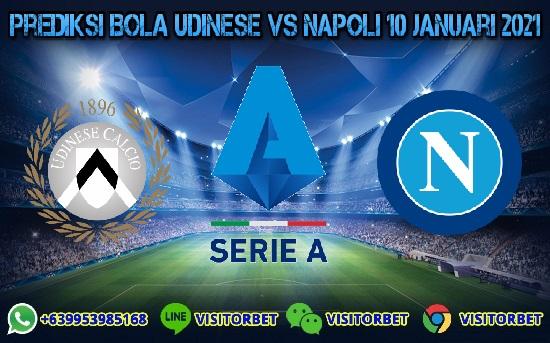 Prediksi Skor Udinese Vs Napoli 10 Januari 2021