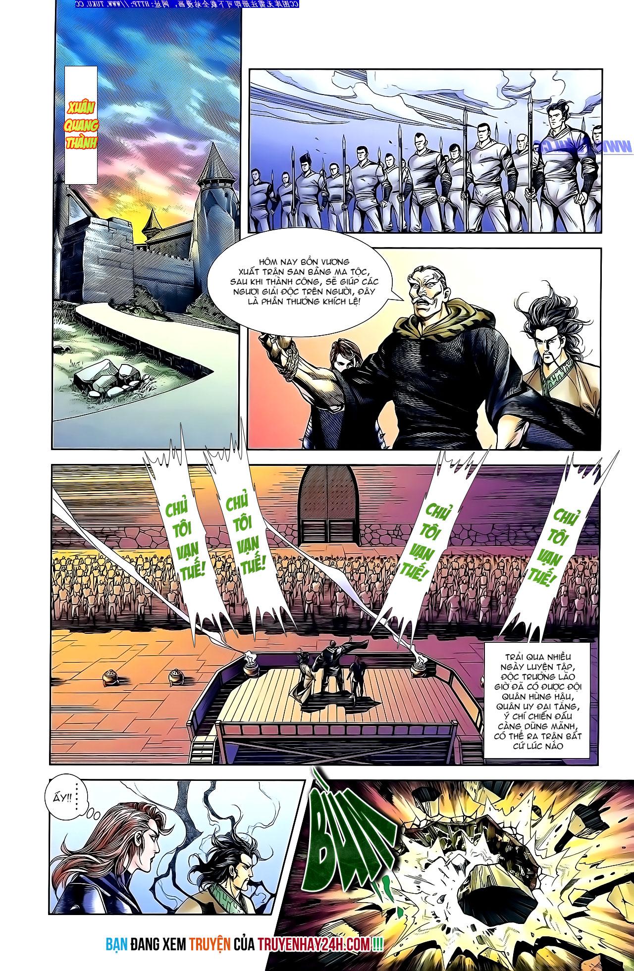 Cơ Phát Khai Chu Bản chapter 139 trang 30