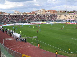 The Stadio Armando Picchi in Livorno, named after the Tuscan city's most famous player