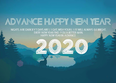 happy new year 2020 advance wishes images