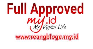Domain my.id susah aporove