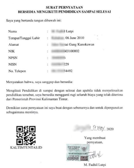 Berkas Yang Harus Di Upload Di Pendaftaran Beasiswa Kaltim Tuntas