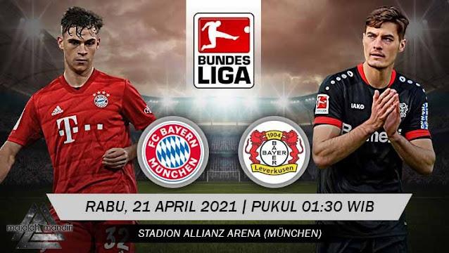 Prediksi Bayern Munchen Vs Bayer Leverkusen