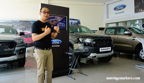 Ford Philippines - pickup trucks Ford Media Drive Bacolod - Ford Ranger pickup review - Ford Ranger Wildtrak - Ford Ranger XLT - Ranger Raptor - road trip - Bacolod blogger - Bacolod City - Talisay City - Ford Negros manager Dennis Piccio