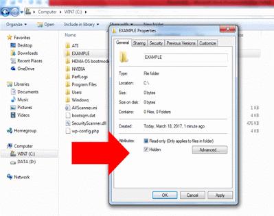 Windows Files And Folders
