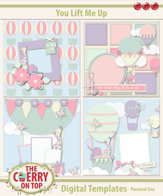 You Lift Me Up Scrapbooking Templates