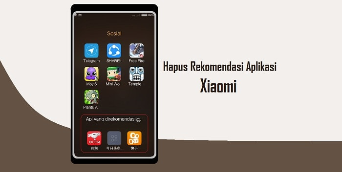 Cara Menghapus Rekomendasi Aplikasi di HP Xiaomi Dengan Mudah