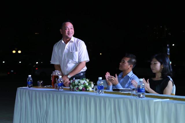 Ông Trương Anh - Phó giám đốc Trung Tâm Văn Hóa Quận 2 - đại biểu tham dự
