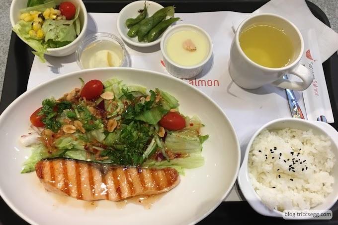 [餐廳]台北大同區 美威鮭魚京站店-有多種鮭魚料理可選擇的專賣店。