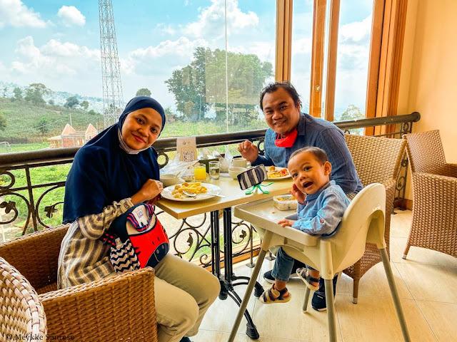 Breakfast di Susan Spa and resort Bandungan