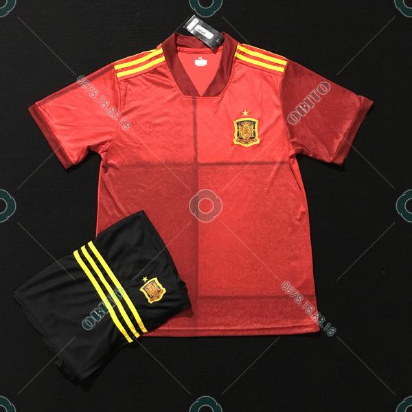 Mẫu Áo Bóng Đá Rẻ Và Đẹp Đội Tuyển Tây Ban Nha 2020