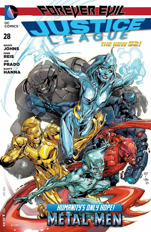 The Senses-Shattering Saga of the Metal Men! Special Edition -- Justice League #28