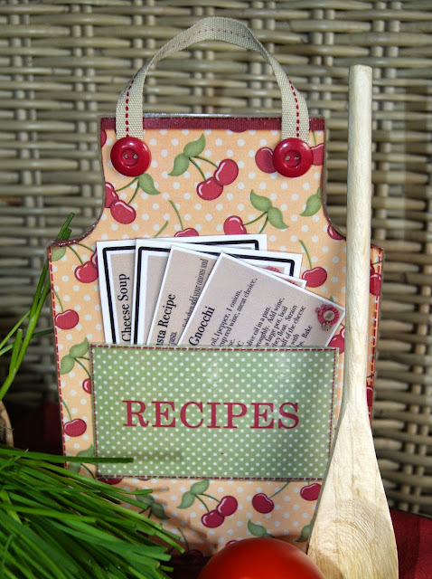 The Cherry On Top's Terrific Paper Apron with Free Template