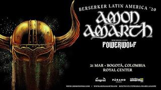 Concierto de AMON AMARTH en Colombia