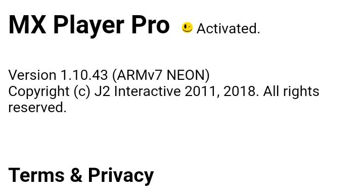 black mx player pro apk download