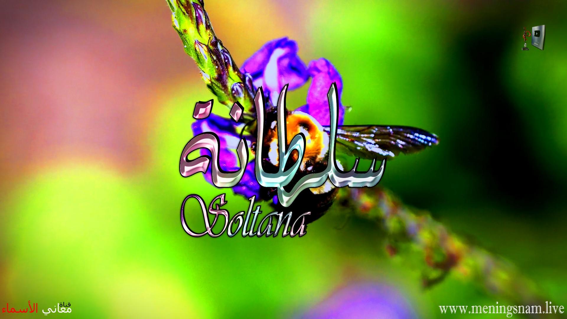 معنى اسم سلطانة وصفات حاملة هذا الاسم Soltana