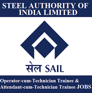 Steel Authority of India Limited, SAIL, Technician Trainee, 10th, Diploma, Jharkhand, freejobalert, Sarkari Naukri, Latest Jobs, sail logo