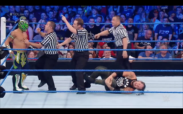 Baron Corbin Kalisto WWE SmackDown Live
