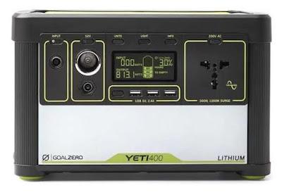 Solar-Batterie-Box mit Laderegler und 220V Konverter und USB Anschlüssen