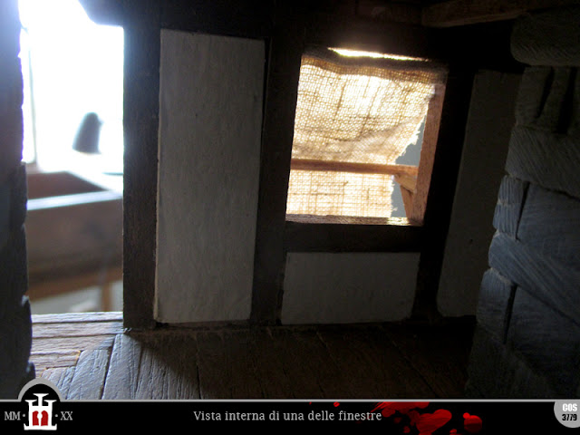 Interno di una delle finestre