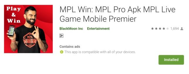 MPL Win: MPL Pro Apk MPL Live Game Mobile Premier