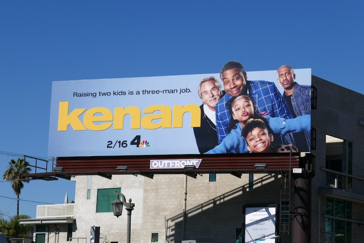 Kenan series launch billboard