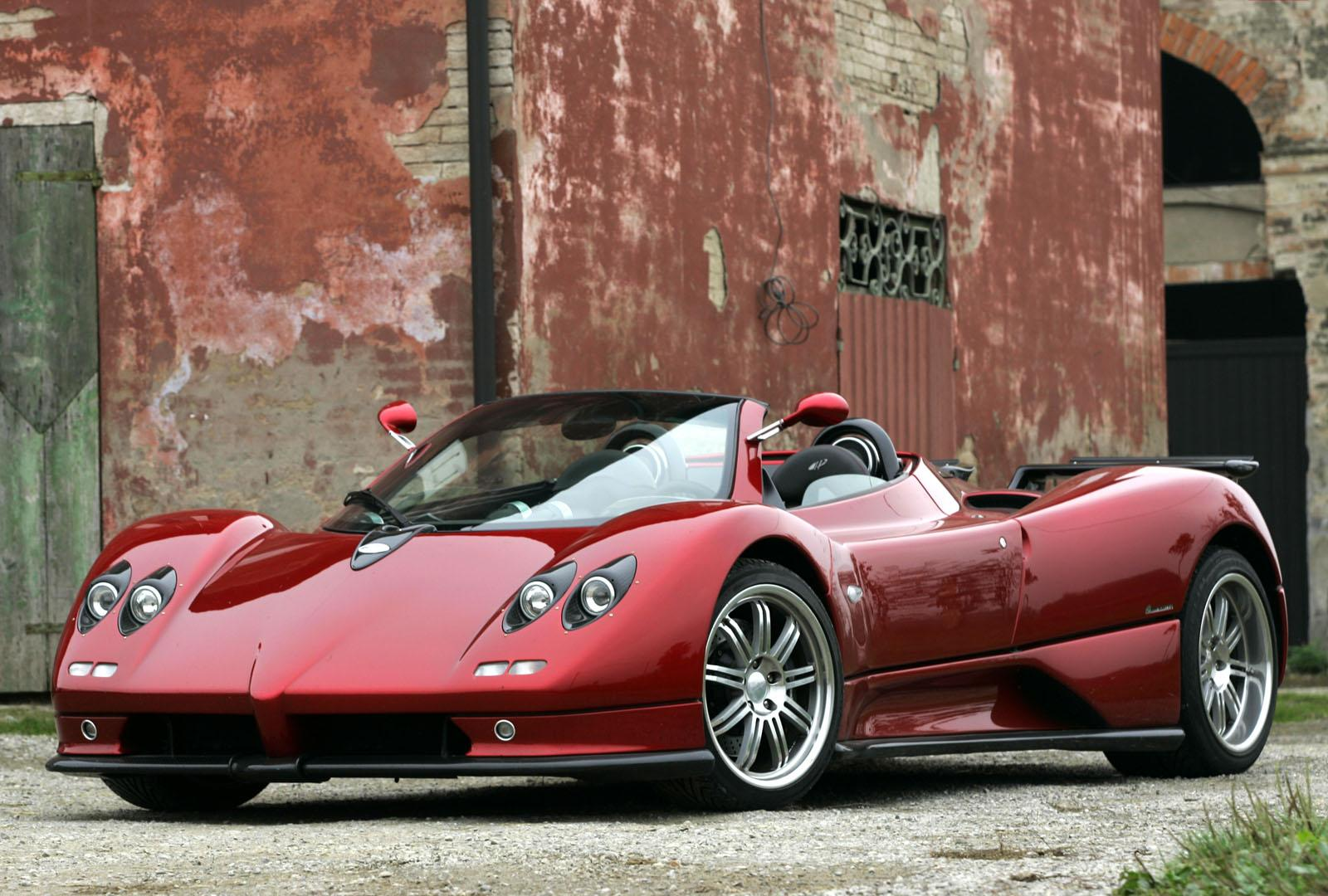 World Of Cars Pagani Zonda Cinque Roadster