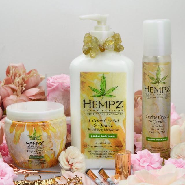 The Hempz SS19 Citrine Crystal & Quartz Collection, Lovelaughslipstick Blog Review