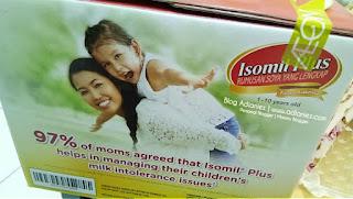 Isomil Plus alternatif untuk bayi alahan susu lembu