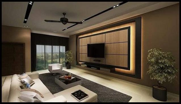 modern built in tv wall unit designs 2020