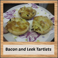 Bacon and Leek Tartlets