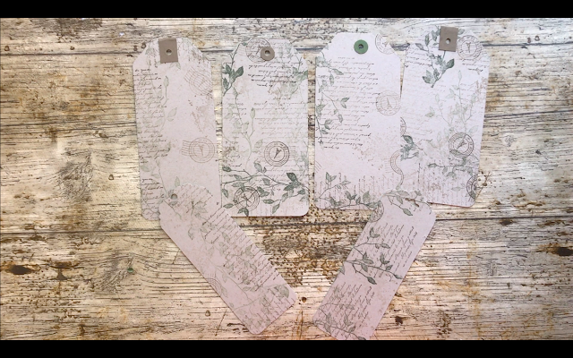 My First Junk Journal: Making Tags Using Stampin' Up! Products