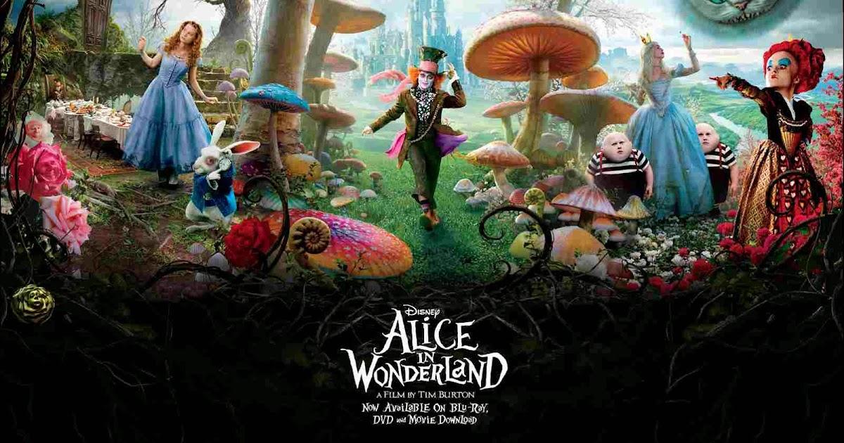 alice Mia wonderland wasikowska in