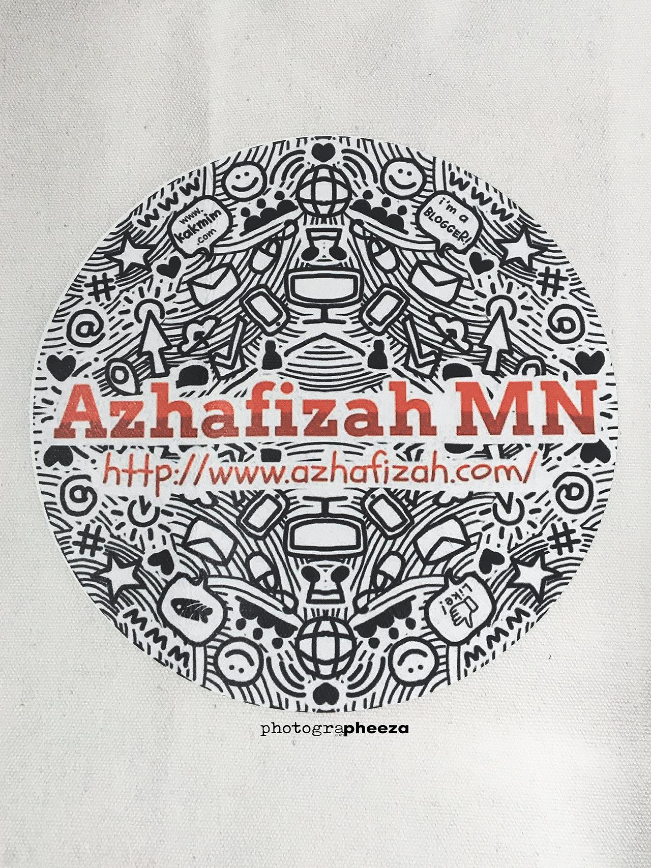 Tote Bag Azhafizah.Com limited edition dari Kakmim.com