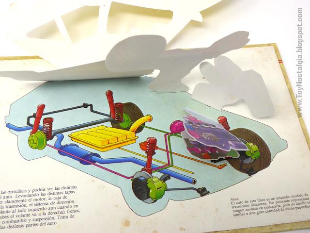 THE CAR (Watch it works) - Pop Up book  1984 - Editorial Atlántida  Ray Marshall & John Bradley