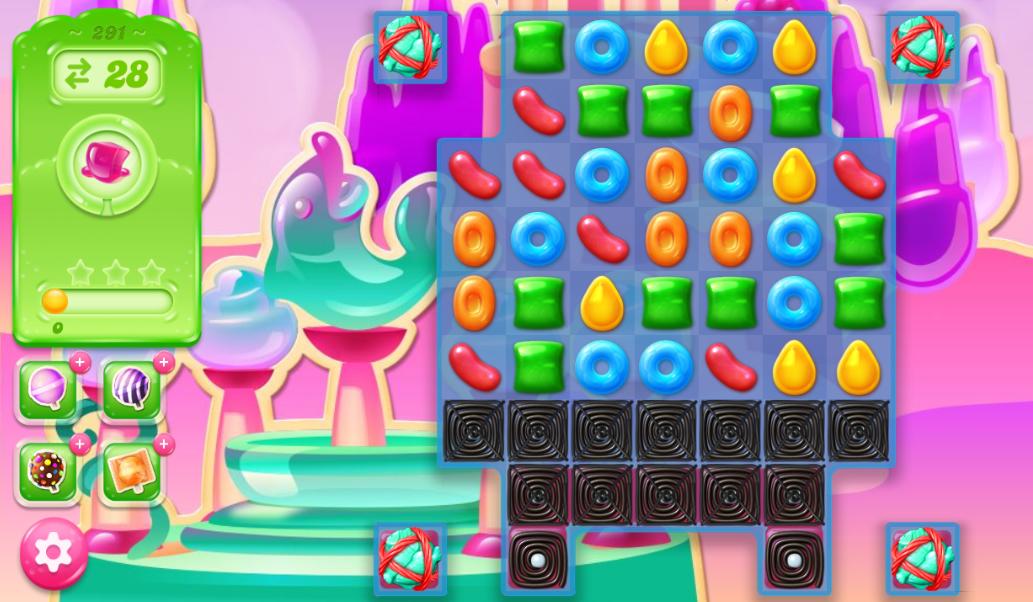 Candy Crush Jelly Saga 291