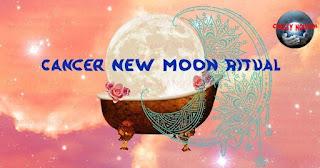 Cancer new moon ritual, nghi lễ trăng non Cự giải 2021