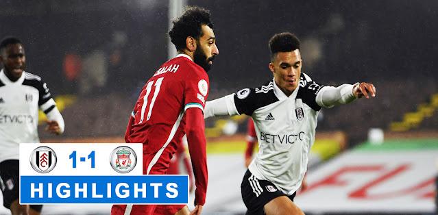Fulham vs Liverpool – Highlights