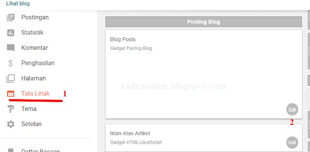 Cara menghilangkan atau menyembunyikan tanggal postingan blog